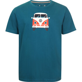 Elkline Methusalem SS T-Shirt Men, blue coral
